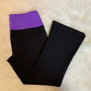 Lululemon groove crop pants